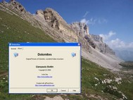 Dolomites Screen Saver screenshot